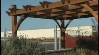 Cedar Patio Pergola 10x8 Breeze