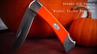 "The ""Fox"" Buck Knives 110 Folding Hunter"