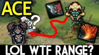 ACE Dota 2 [Huskar] LOL! WTF Range Life Break?