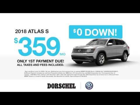 2018 VW Atlas | June Offer | Dorschel Volkswagen