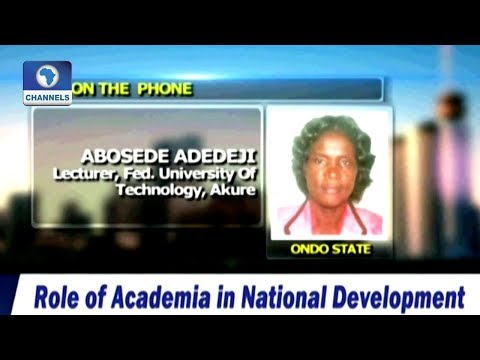 Chat On The Role Of Academia In National Development