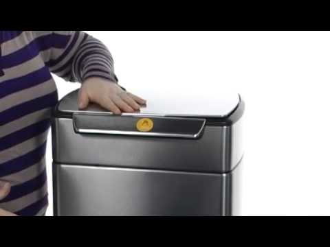 Simplehuman Simplehuman Rectangular Touch Bar Trash Can Sku