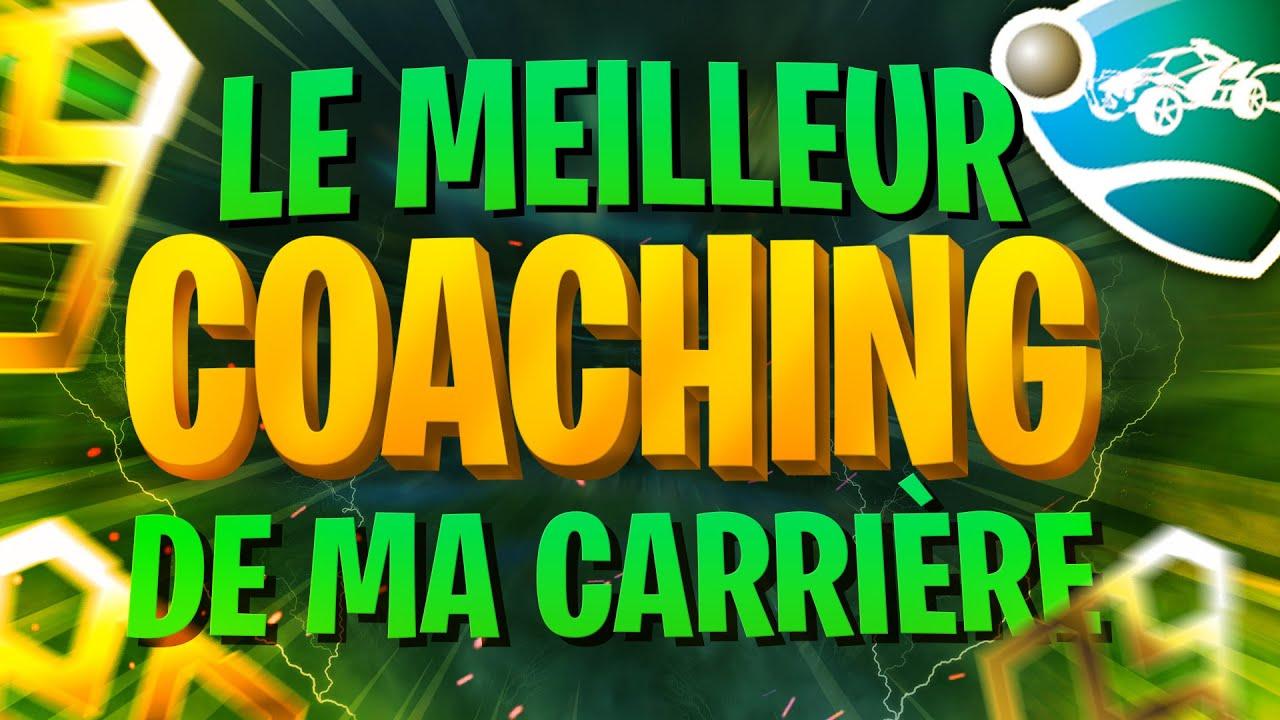 J'AI JAMAIS AUSSI BIEN COACHÉ UN GOLD 2 !! LES TIPS POUR PROGRESSER À ROCKET LEAGUE !!