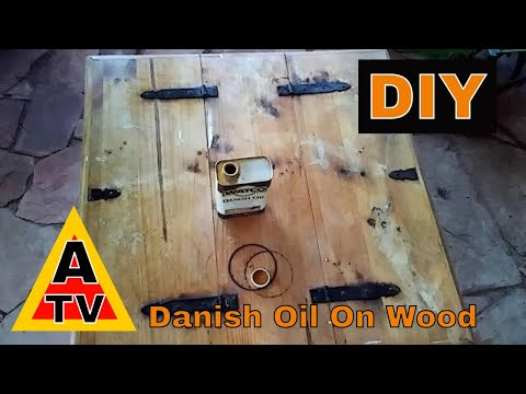 Refinishing Wood Furniture With Watco Danish Oil. #GreenThoughts #InTheGreenHouse CC