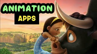 Best Animation Making Apps For Android | 2D Animation Apps 3D Animation Apps Cartoon Animation Apps