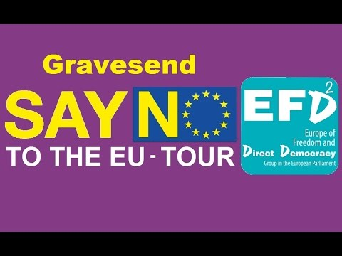 Say No to EU Tour   Gateshead  Mon, Oct 12 2015