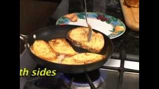 Real French Toast bỳ real French Chef Jean-Jacques Bernat