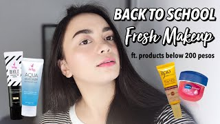 Back to School Makeup (ALL UNDER 200 PESOS) | Nikki Valiente