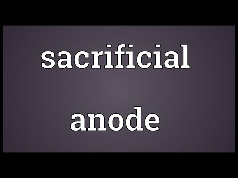 Sacrificial Anode Meaning
