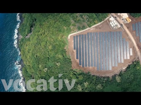 This Remote Island Runs On 5,000 Solar Panels