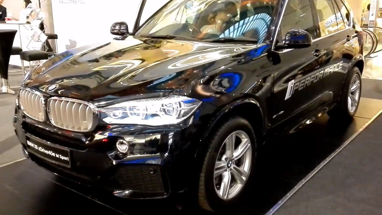 bmw x5 xdrive40e m sport 2017 exterior interior youtube. Black Bedroom Furniture Sets. Home Design Ideas