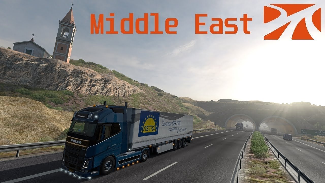 ETS2 [GR] PROMODS/MIDDLE-EAST #3 Tripoli to Jerusalem 1/2