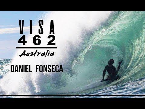 VISA 462 - Daniel Fonseca - BODYBOARD AUSTRALIA