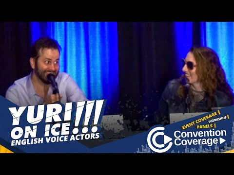 #ConventionCoverage: Yuri On Ice English Voice Actor [SacAnime Summer 2018]