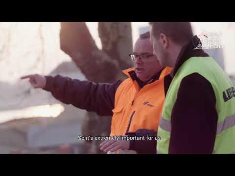 Liebherr – Grand Paris – Large Quantities Of Construction Waste