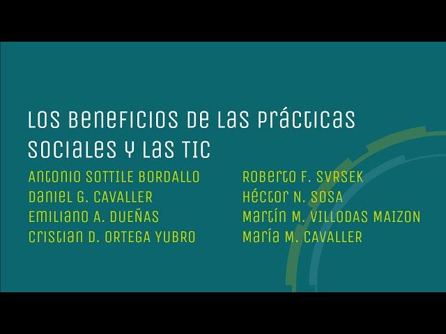 Los beneficios de las prácticas profesionales y las TIC