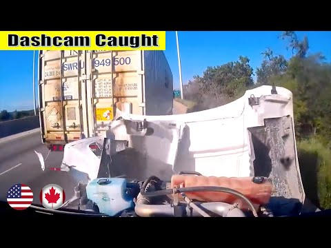 Ultimate North American Cars Driving Fails Compilation - 181 [Dash Cam Caught Video]