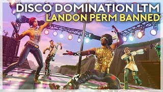 Disco Domination LTM, Landon Gets Banned, Music Packs Should Be Free? (Fortnite Battle Royale)