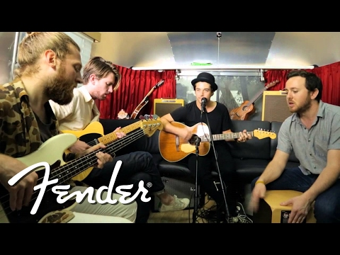 "Delta Spirit Perform ""California"" on Fender Airstream   Fender"