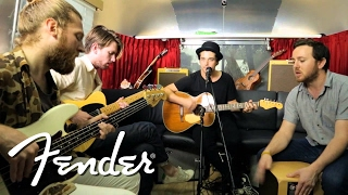 "Delta Spirit Perform ""California"" on Fender Airstream"