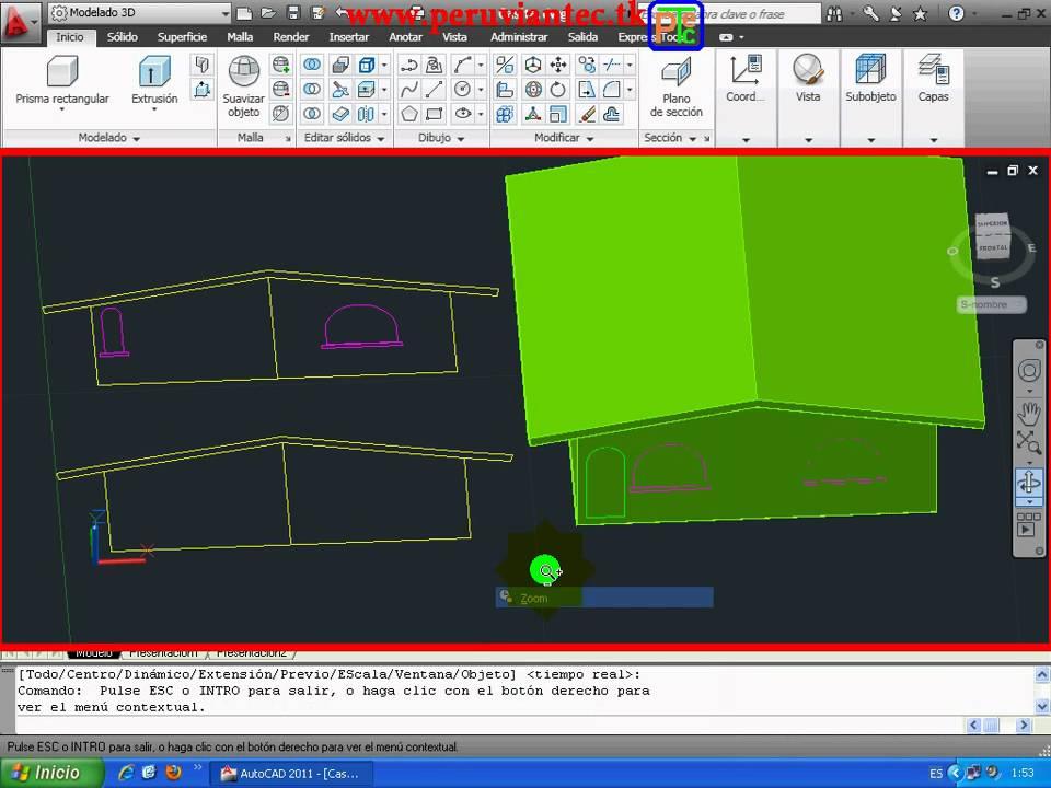 200 videos de autocad 2011 2d 3d curso para casa tutorial completo rh youtube com tutorial autocad 2011 español AutoCAD 2014 User Manual