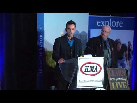 8th Annual Huron Manufacturing Excellence Awards | 2013 | HMA | HuronCountyTV