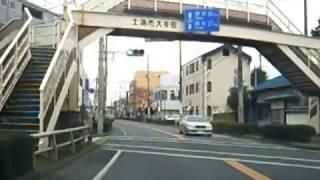 土浦市内動画 JR土浦駅~亀城公園~桜町