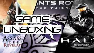 Game Unboxing - 11-15-11: AC: Revelations - Signature Edition, Saints Row 3, Halo: Anniversary