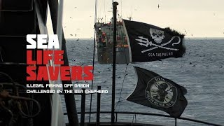Sea Life Savers: Illegal fishing off Gabon challenged by the Sea Shepherd (Trailer) Premiere 22/9