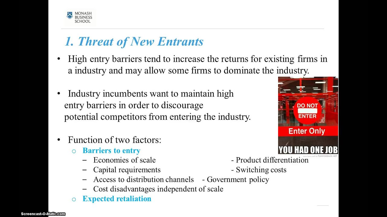 what barriers to entry help maintain the industry structure Domestic aviation barriers to entry continue to limit benefits of airline concerning barriers to entry in the airline industry and (2) dot's response.