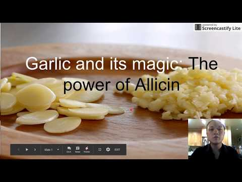Garlic and the power of Allicin