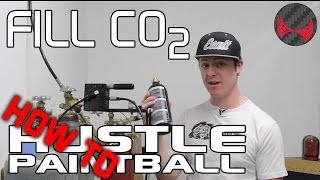 how to fill a paintball co2 tank from a bulk tank 20lb 50lb etc by hustlepaintball com