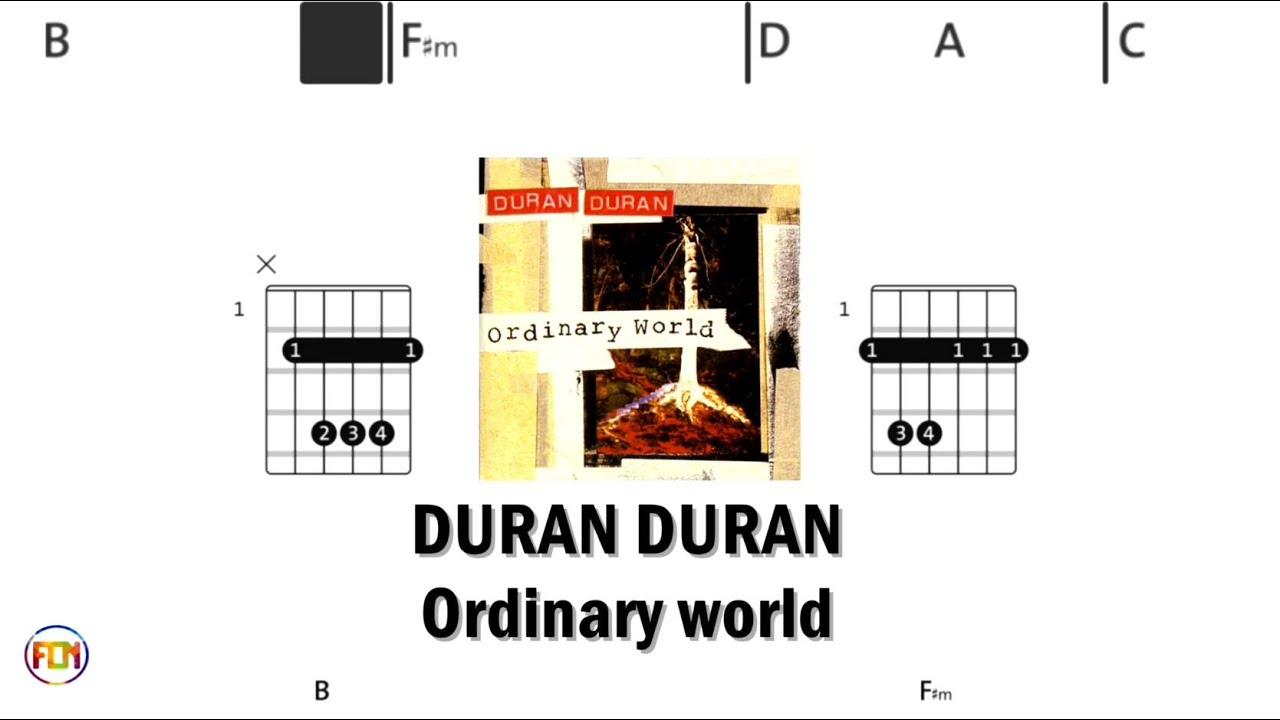 DURAN DURAN Ordinary world   Chords & Lyrics like a Karaoke HD