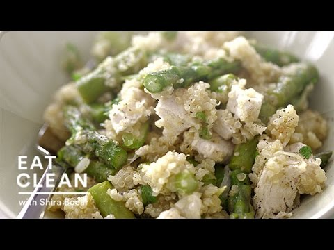 One-Pot Warm Quinoa Chicken Salad Eat Clean with Shira Bocar