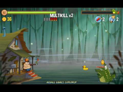 Swamp Attack Game (1 10 lvl) (Android & iOS)