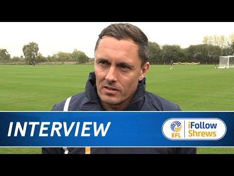 INTERVIEW | Paul Hurst pre Bristol Rovers - Town TV