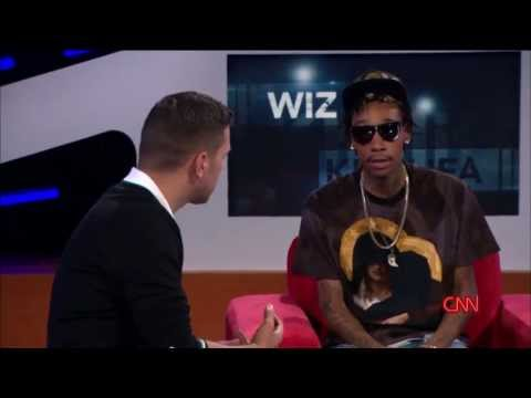 Wiz Khalifa Talks About Smoking Weed On CNN!