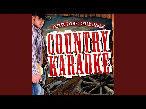 Help Me Hold On (In the Style of Travis Tritt) (Karaoke Version)