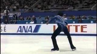 Johnny Weir  NHK  Trophy 2004 FS + Podium