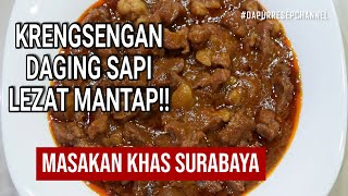 Download Video Krengsengan Daging Sapi Khas Surabaya | Bumbu Jawa | Resep Tradisonal | Indonesian Foods MP3 3GP MP4