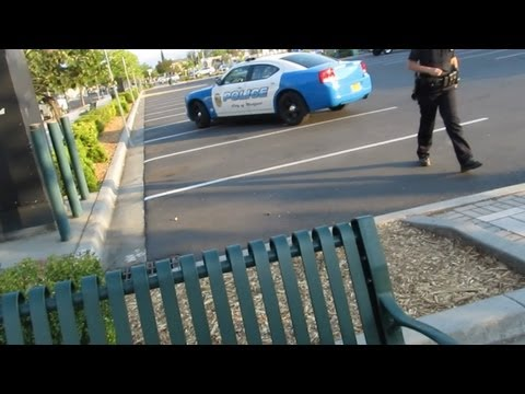 Medford Police in Central Medford, Open Carry AR-15