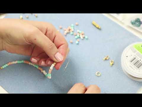 Elaboración de joyería: Componentes metálicos Beadalon ♡ DIY