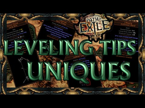 Path of Exile: Leveling Tips - Unique Items
