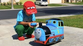 Thomas and Friends Trains Disney Cars Toys Lightning McQueen Percy