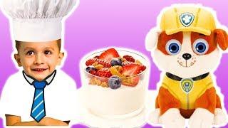 Простые рецепты - готовим йогурт. Видео для детей с KuSaNiKi