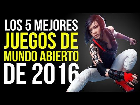 Los 5 MEJORES JUEGOS DE MUNDO ABIERTO de 2016