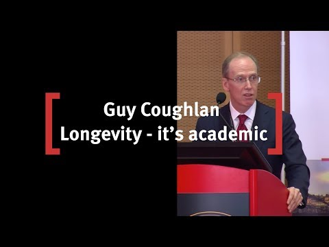 Guy Coughlan, Chief Financial Risk Officer at USS : Longevity - It's Academic