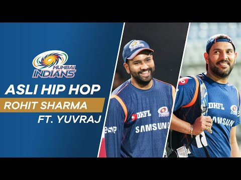 Gully Boy Rohit Sharma - Asli Hip Hop Ft. Yuvraj Singh | Mumbai Indians