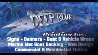 Marine Mat foam boat decking installation in Key West, Florida