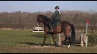 Flora Harris takes Barney cross country schooling for the first time TRAILER